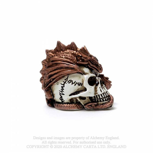 Miniature Dragon keeper Skull