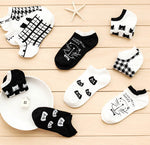 Kitten Socks - Comfy Low Ankle Socks Cute Kittens