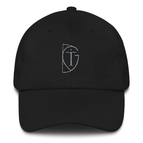 ITGD Black Curved Brim Hat