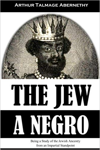 THE JEW A NEGRO PAPERBACK