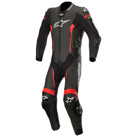 Alpinestars Missile Tech-Air One-Piece Leather Suit Black/Red