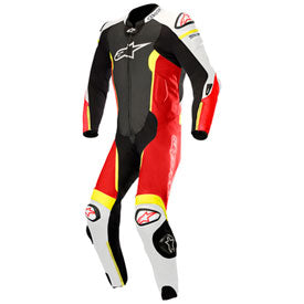 Alpinestars Missile Tech-Air One-Piece Leather Suit Black/Red/White