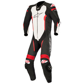 Alpinestars Missile Tech-Air One-Piece Leather Suit Black/White/Red