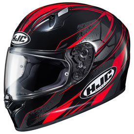 HJC FG-17 Toba Helmet Black/Red