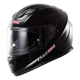 LS2 Stream Motorcycle Helmet Black