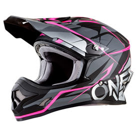 O'Neal Racing Women's 3 Series Freerider Helmet Small Black/Pink