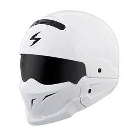 Scorpion Covert Helmet White