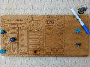 D&D Character Board (PRE-ORDER)