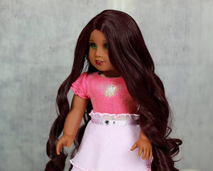 Zazou Dolls Exclusive Majesty WIG for 18 Inch dolls such as Journey, OG and American Girl