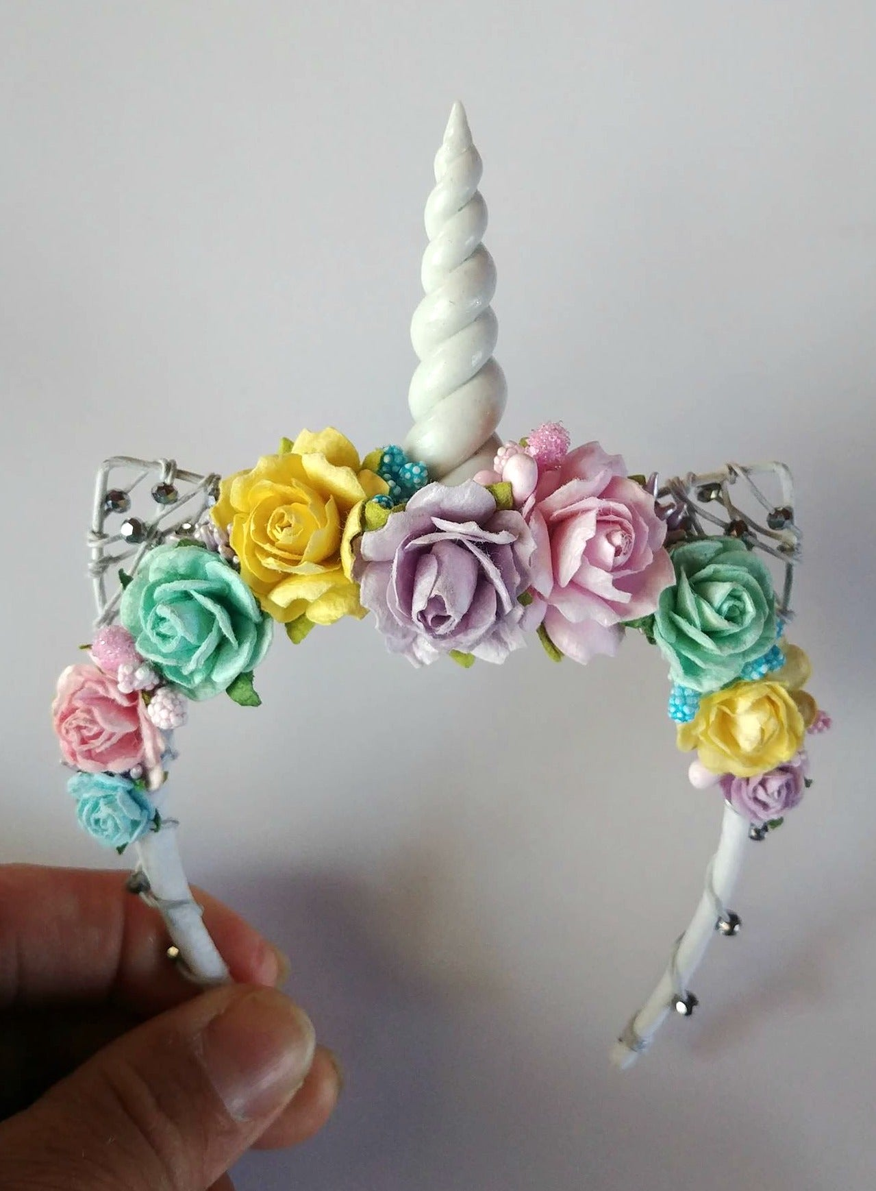 Zazou Dolls Exclusive Unicorn headband for 18 Inch dolls such as Journey, OG and American Girl