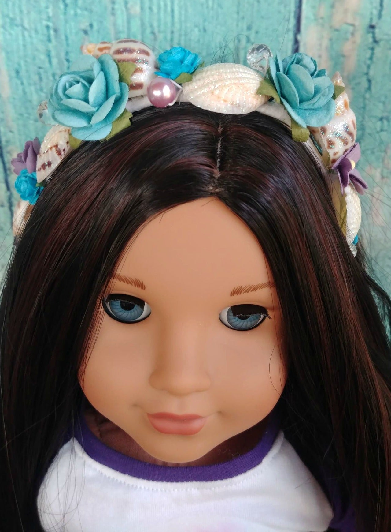 Zazou Dolls Exclusive Mermaid headband for 18 Inch dolls such as Journey, OG and American Girl