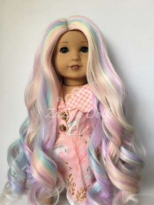 PREORDER: Zazou Dolls Exclusive  WIG  Celestial Curls for 18 Inch dolls such as OG & American Girl