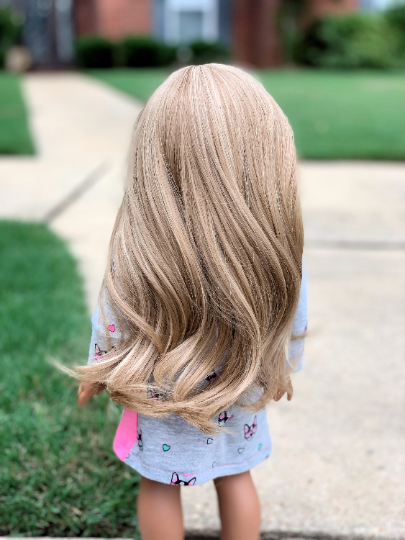 PREORDER: Zazou Dolls Exclusive Surfside Breeze WIG for 18 Inch dolls such as  American Girl