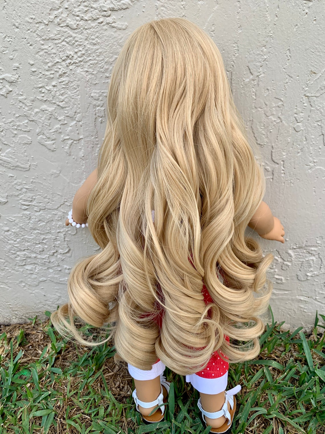 Zazou Dolls Exclusive Princess Honey WIG for 18 Inch dolls such as Our Generation, Journey Girls and American Girl