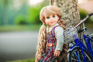 PREORDER: Zazou Dolls Exclusive  Dirty Blonde WIG for 18 Inch dolls such as Journey and American Girl