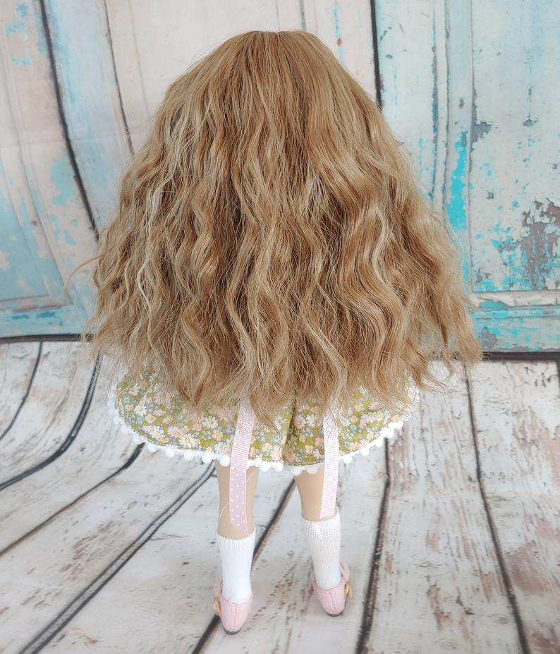 "Custom WIG for 13"" Dianna Effner Little Darling head size 7-8"" Tonner Ellowyne, My Meadow Avery, Mini Pal Maru and Friends, Liz Frost girls"