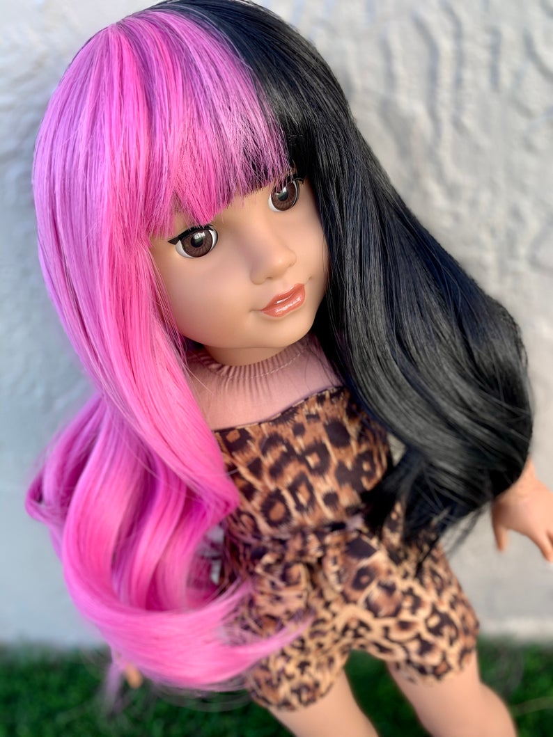 Zazou Dolls Exclusive WIG Cry Baby for 18 Inch dolls such as Our Generation, Journey Girls and American Girl
