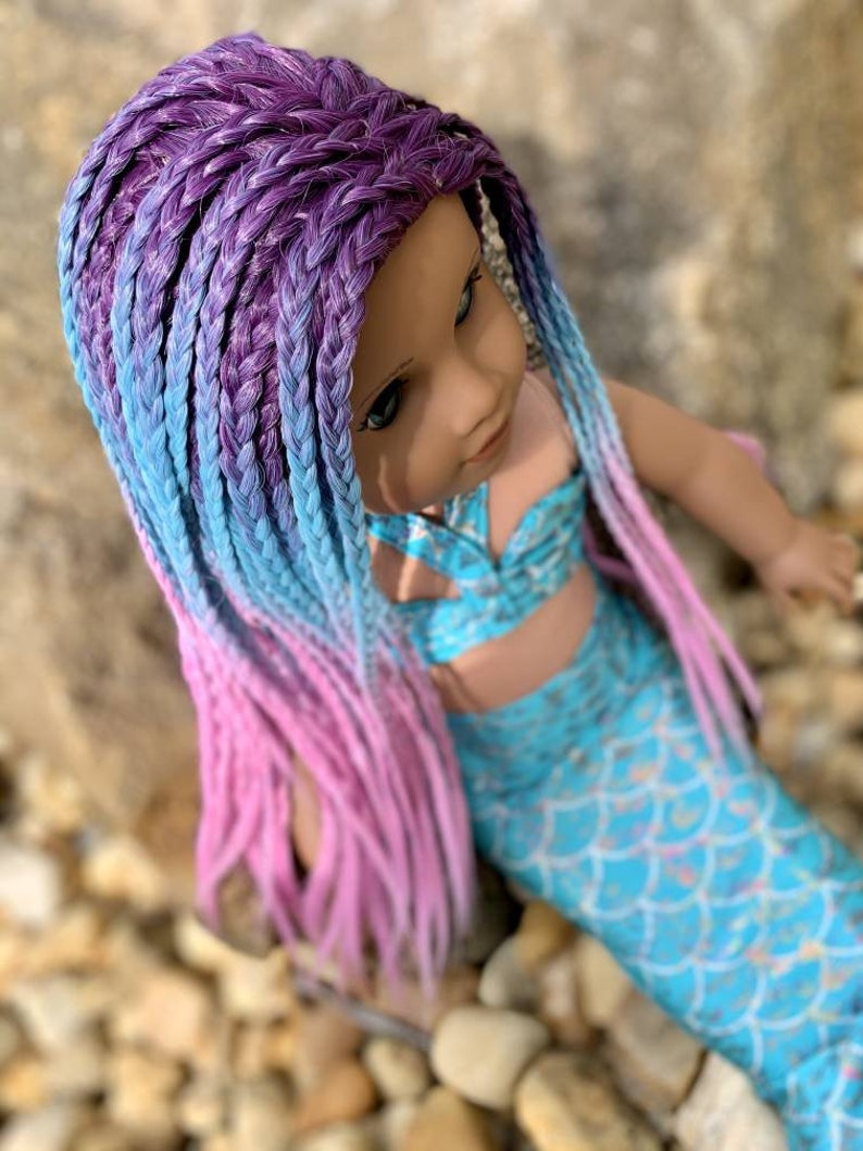 Zazou Dolls Exclusive WIG Bahama Breeze for 18 Inch dolls such as Our Generation, Journey Girls and American Girl