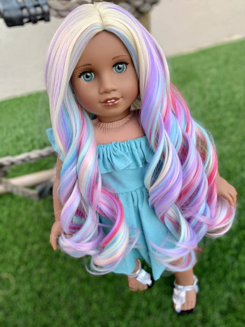 Zazou Dolls Exclusive WIG OhLaLa for 18 Inch dolls such as Our Generation, Journey Girls and American Girl