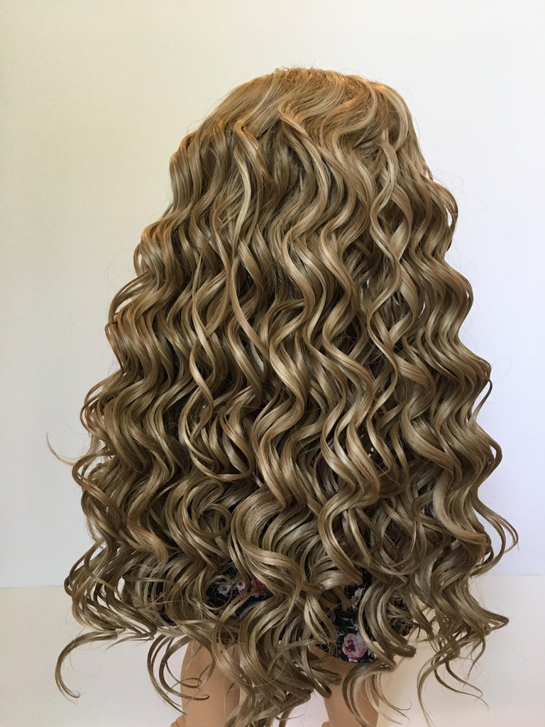 Zazou Dolls Exclusive Beach Waves WIG in Sandy Blonde for 18 Inch dolls such as Journey, Our Generation and American Girl