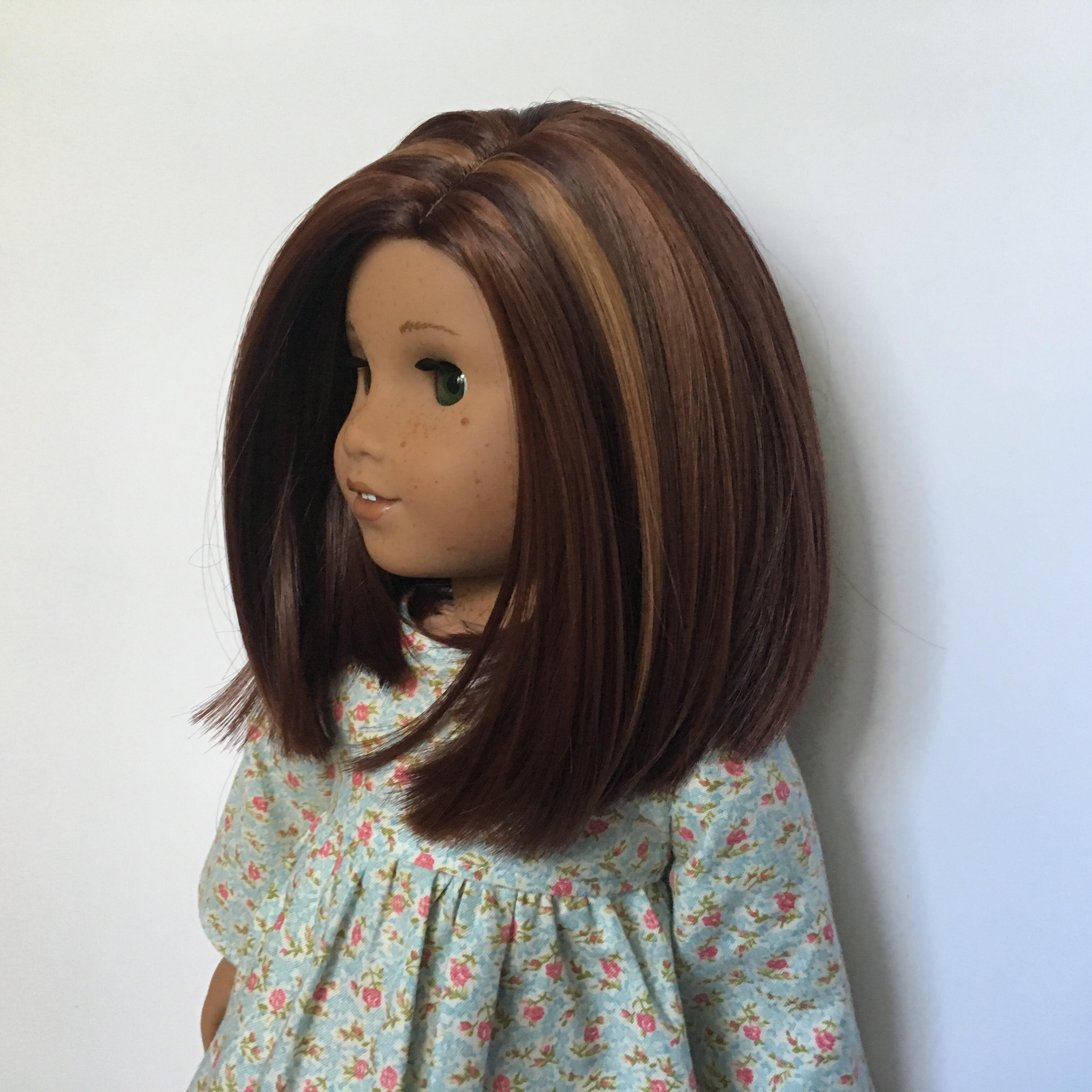 Zazou Dolls Exclusive Lily WIG Chocolate Copper for 18 Inch dolls such as Journey and American Girl