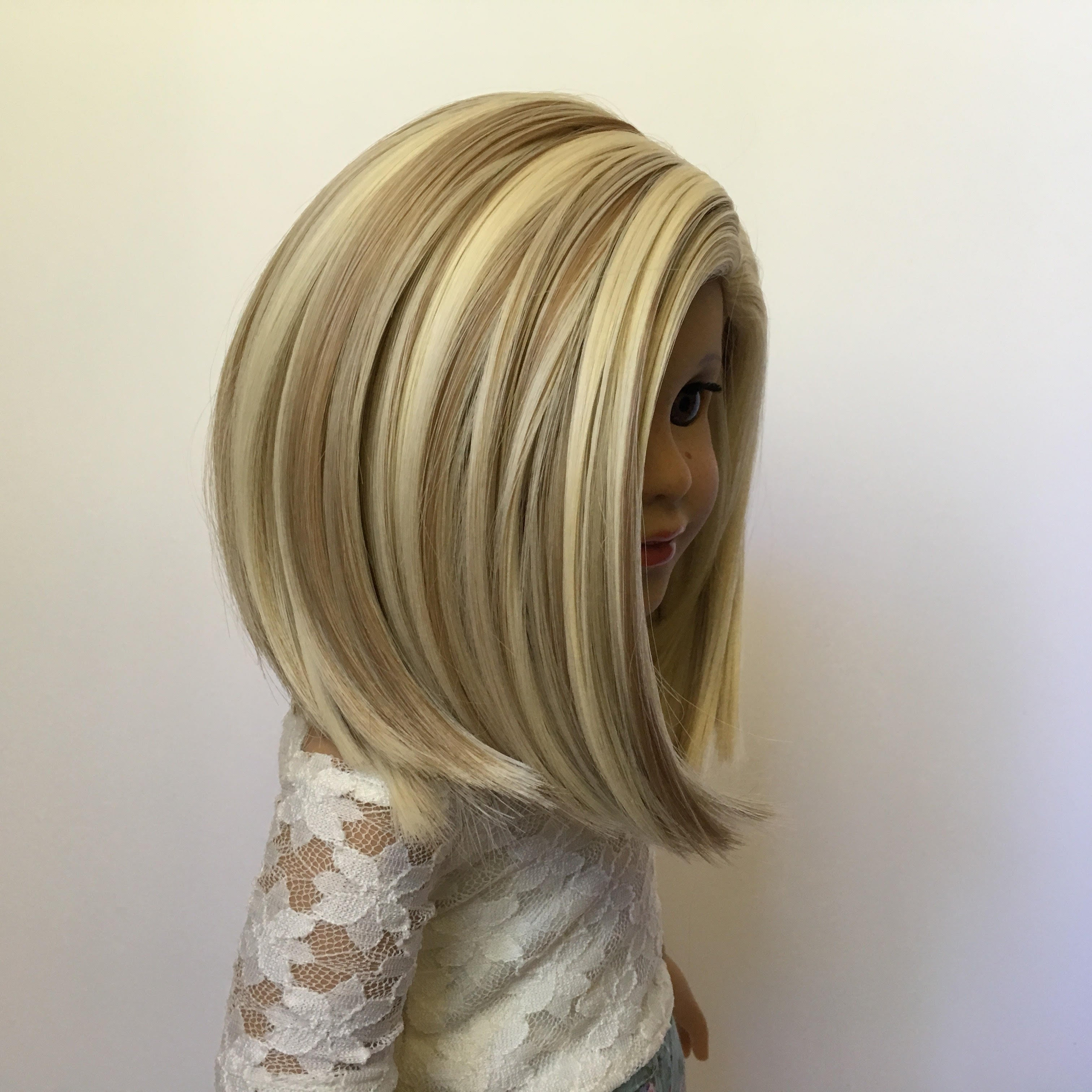 PREORDER: Zazou Dolls Exclusive WIG Malibu Blonde for 18 Inch dolls such as Journey and American Girl