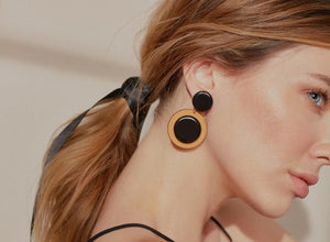 Pendientes Saleia color negro