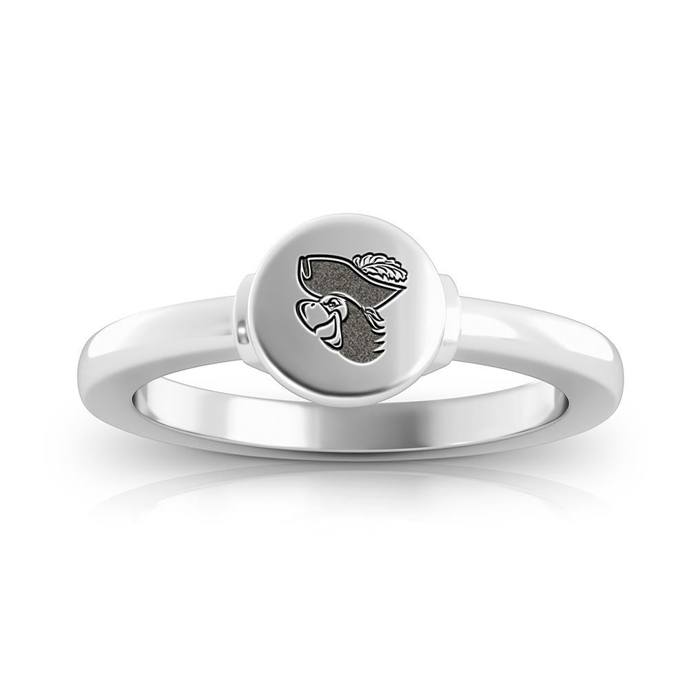 Barry University Signet Ring in Sterling Silver
