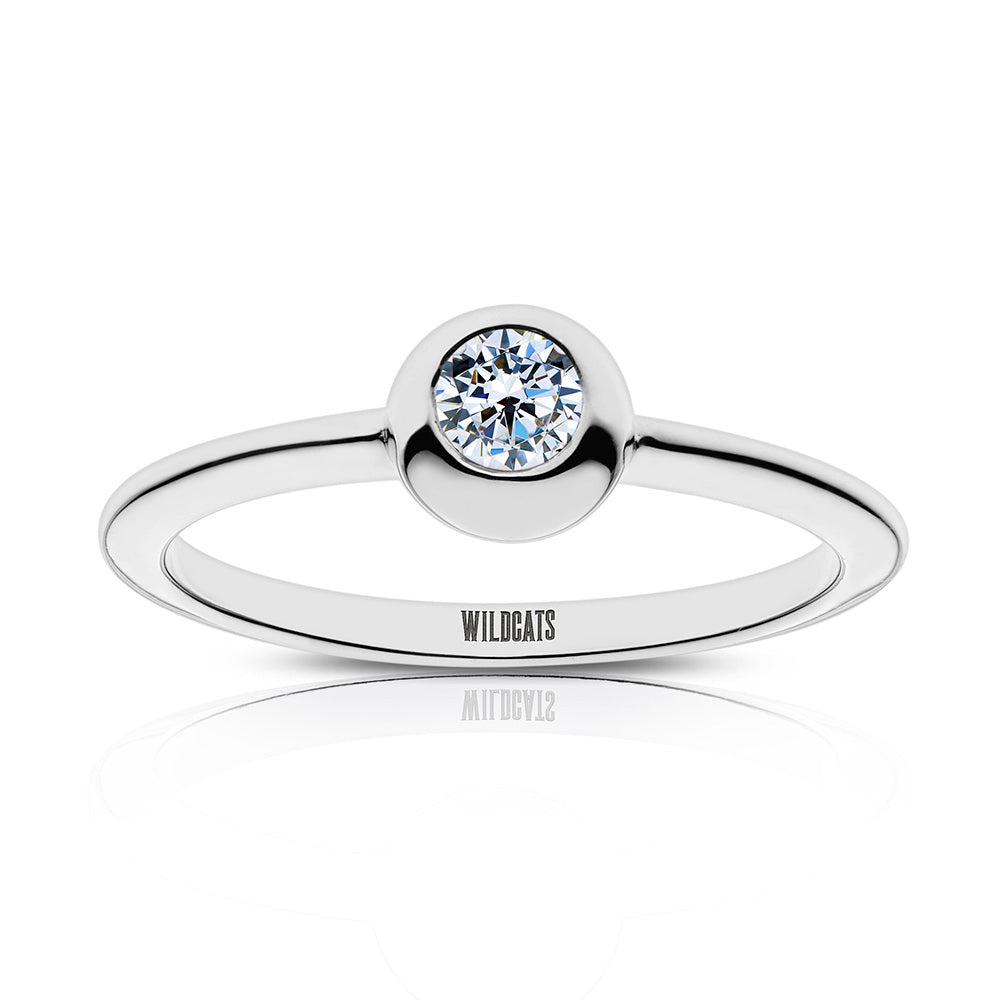 Wildcats Engraved Diamond Ring Size 5