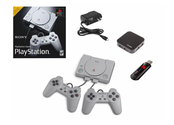 Playstation Classic  Bundle- 270 PS1 Games!
