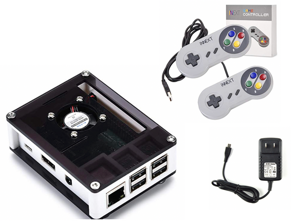 Featured Console! Retropie Console, Raspberry Pi 3B+, 32GB, 15,000+ Games, 9 Layer Case With Fan