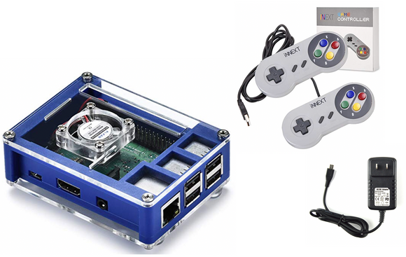 The RecalPi, Raspberry Pi Retro Game Console.  15,000+ Games On A Single Box! Excellent Value!