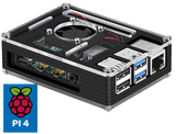 New! Raspberry Pi 4 (2GB) Retropie Console with NES Case, Up to 20,000 Games, MIni HDMI Adapter, Power Supply, Controllers