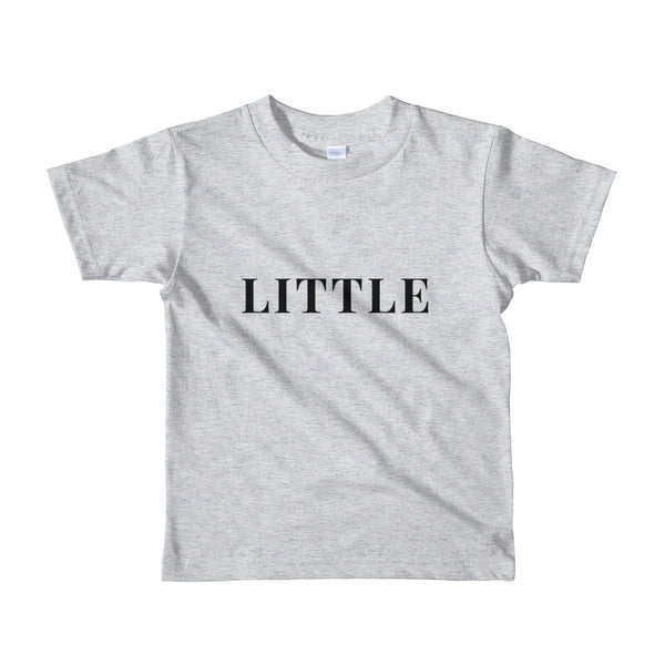 "Father's Day ""Little"" Short Sleeve Kid's T-Shirt"