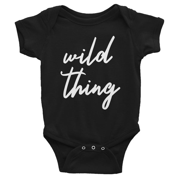 "Mother's Day ""Wild Thing"" Infant Baby One Piece"