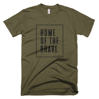 "4th of July ""Home of the Brave"" T-Shirt"
