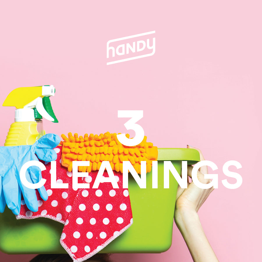 3 Home Cleanings