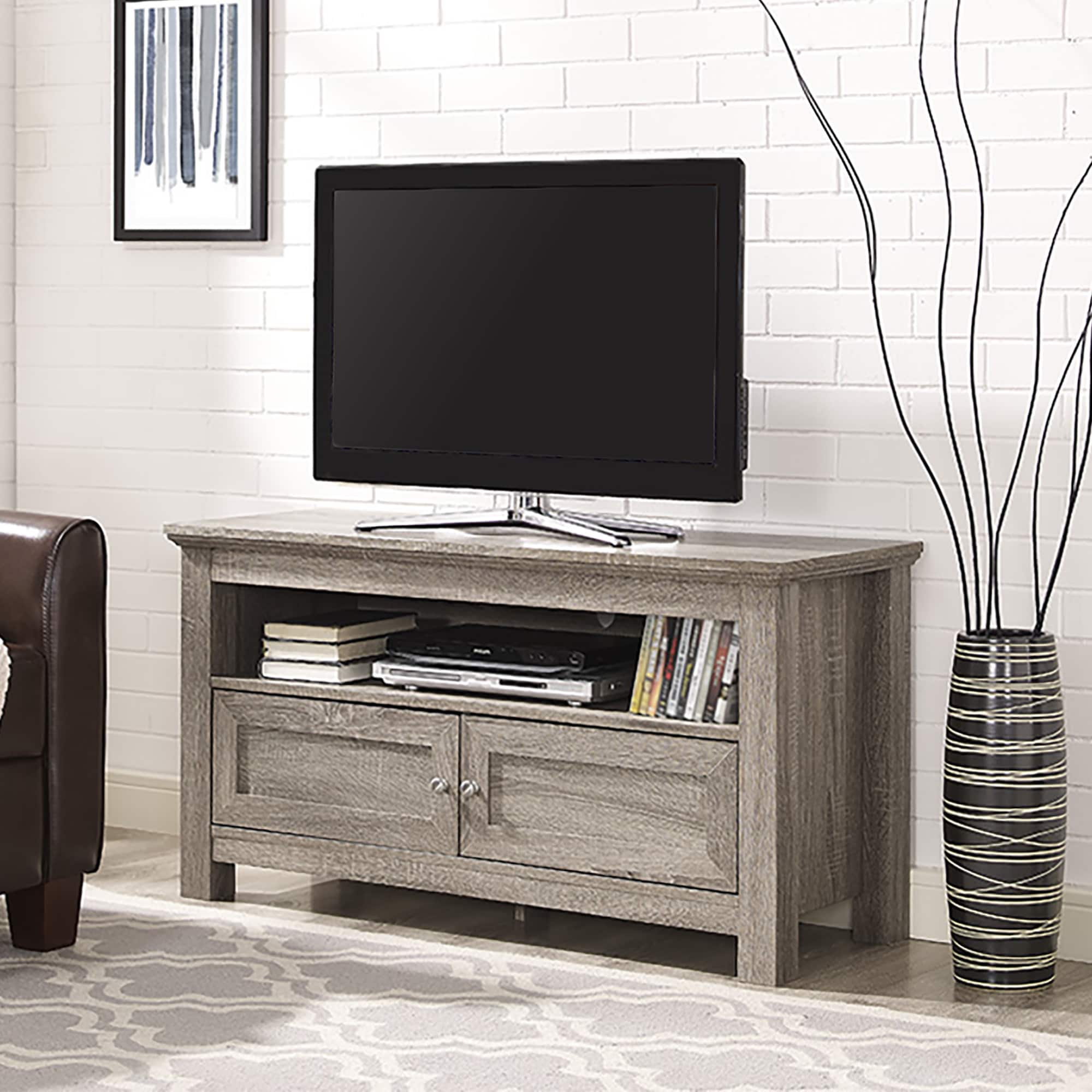 44-inch Driftwood TV Stand