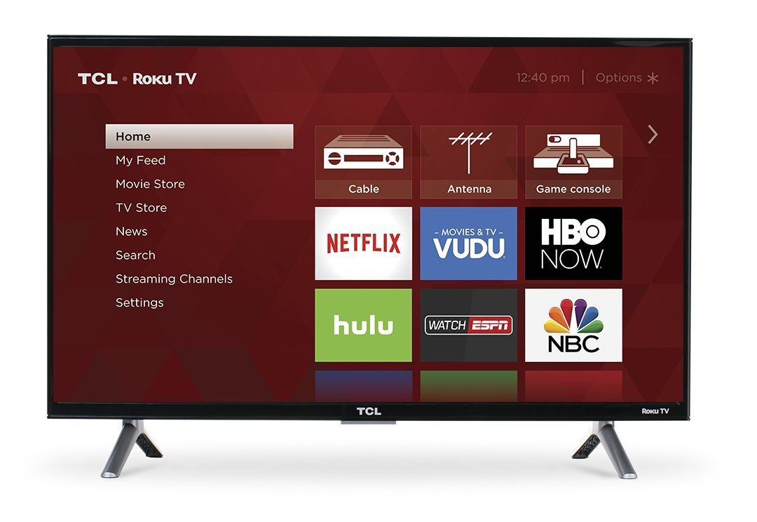 TCL 43S305 43-Inch 1080p Roku Smart LED TV
