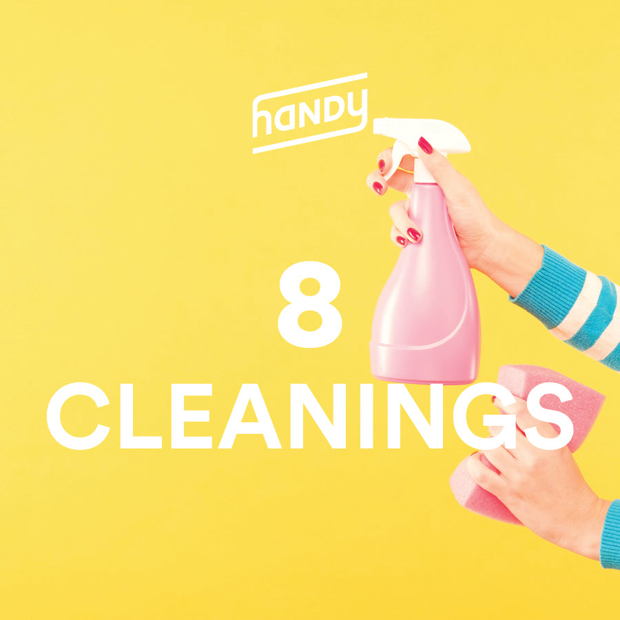 8 Home Cleanings