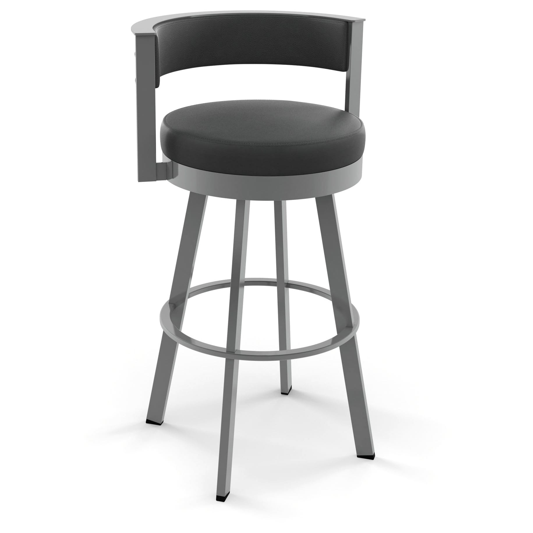 High Bridge 26-inch Swivel Metal Counter Stool