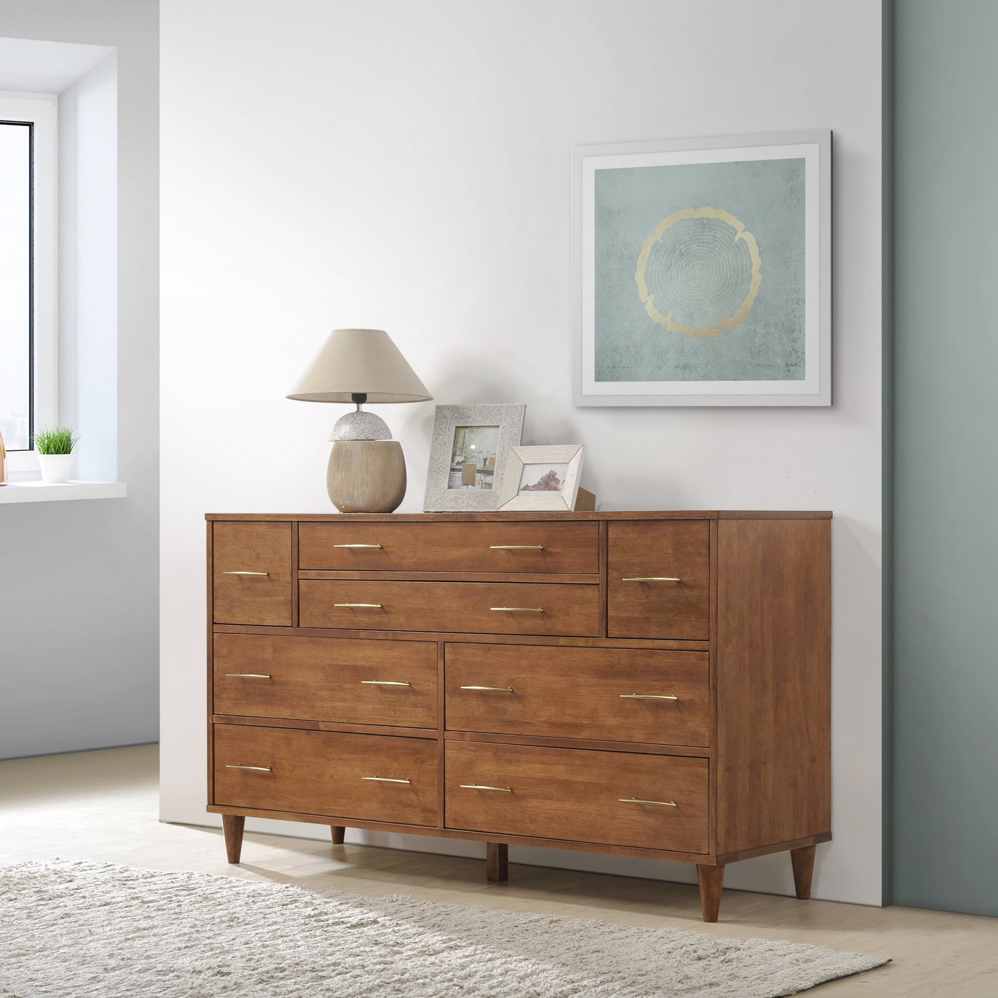 Oak Eight-drawer Dresser