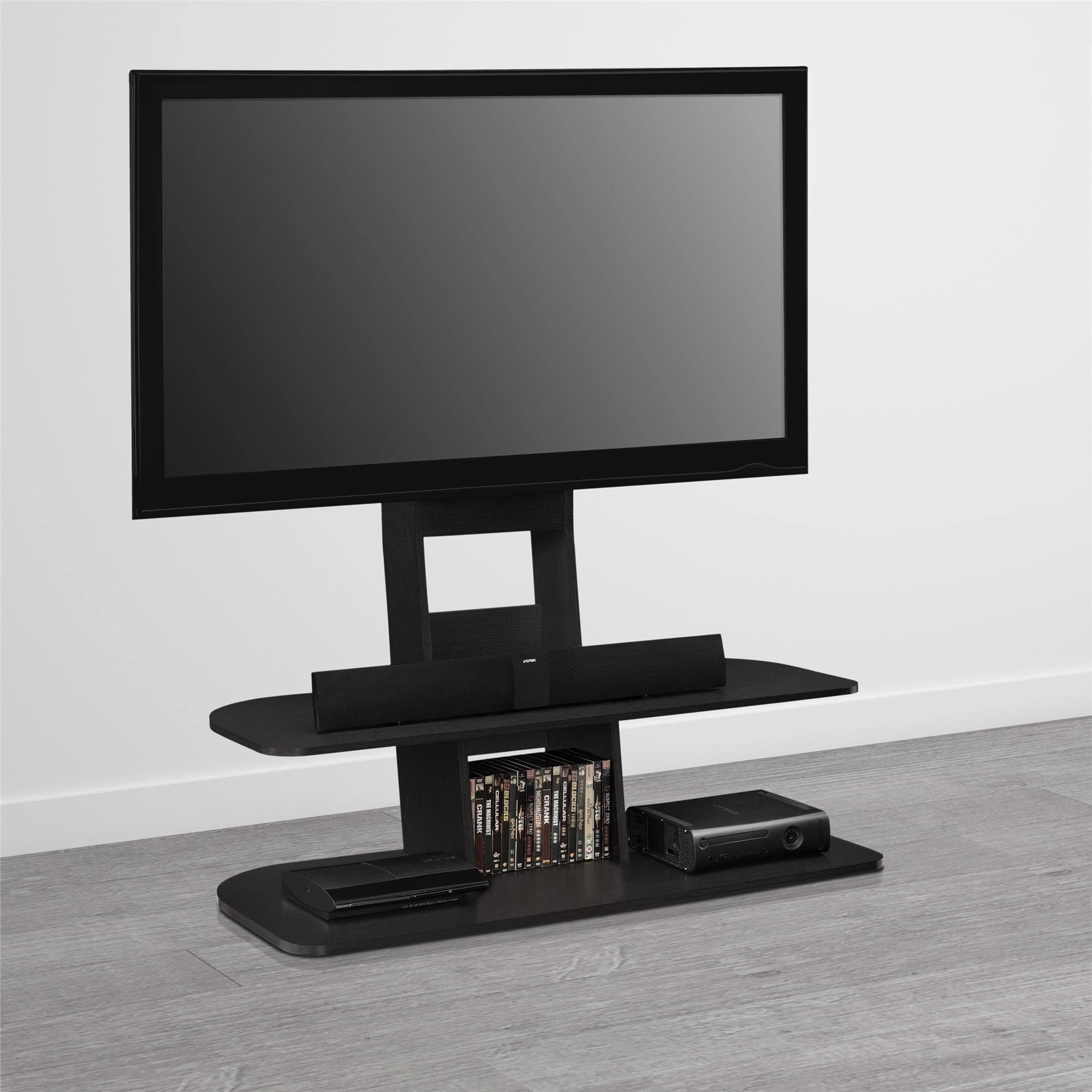 Black 65inch TV Stand With Mount Black 65 Inch Tv Stand Z19