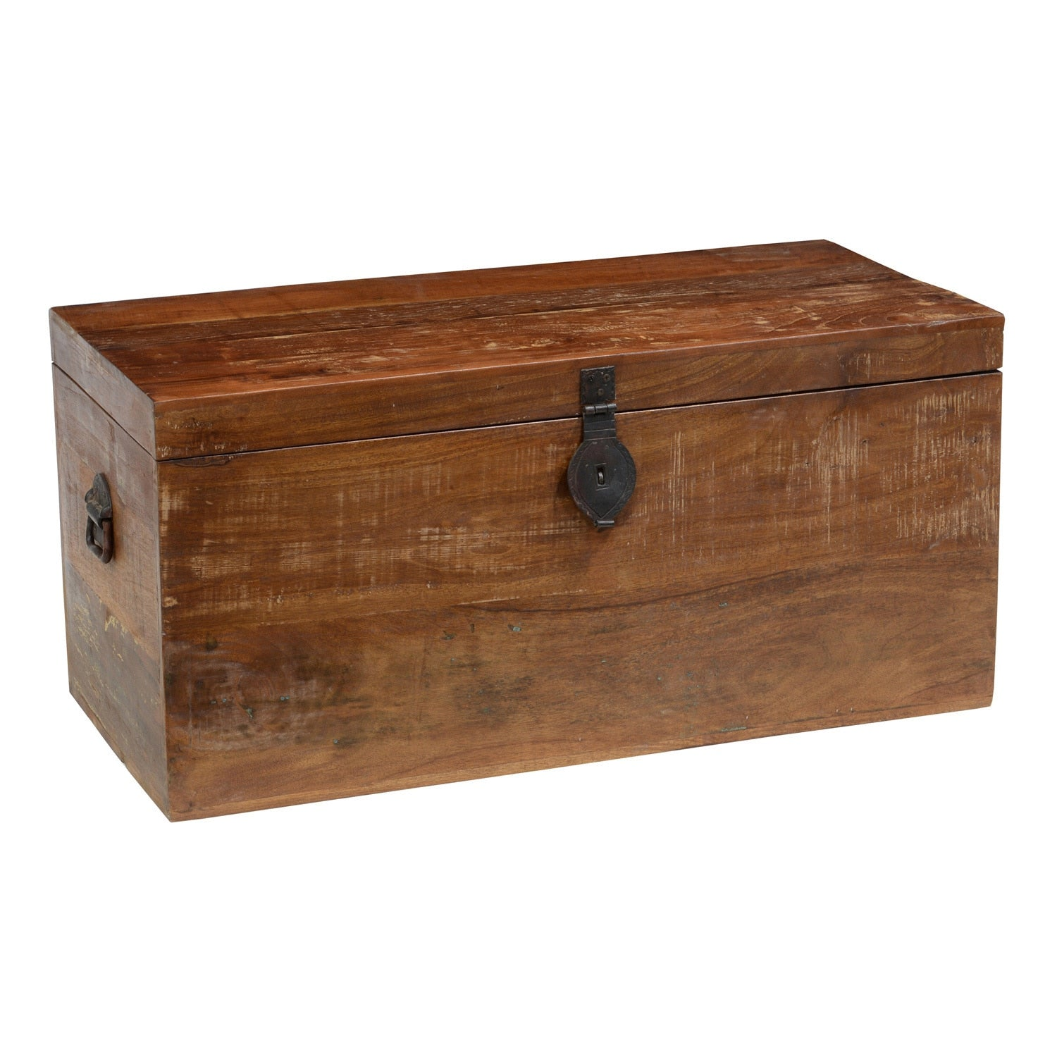 Reclaimed Wood Storage Trunk