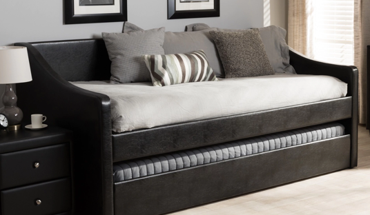 Modern Daybed with Trundle Bed
