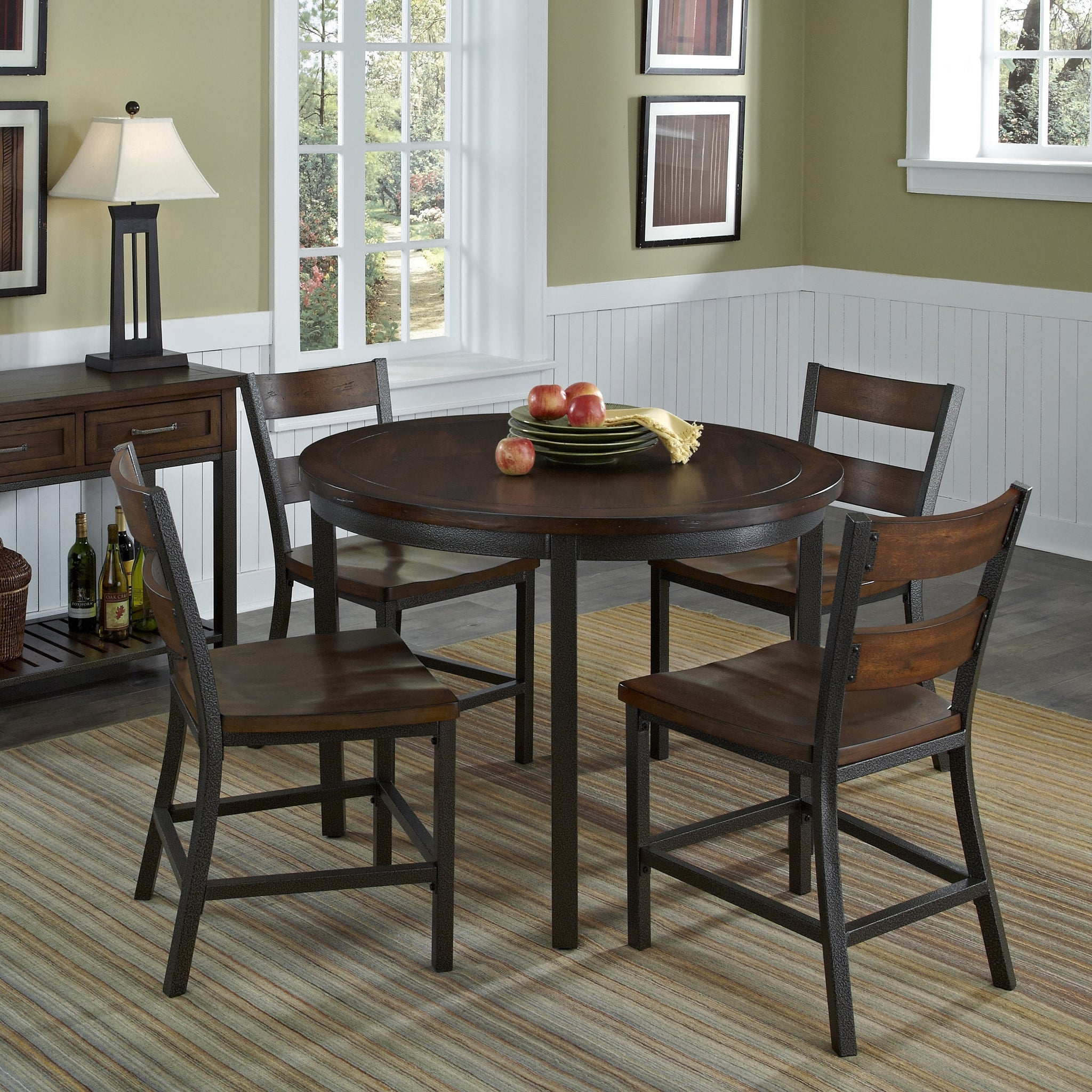 Five-Piece Modern Dining Set