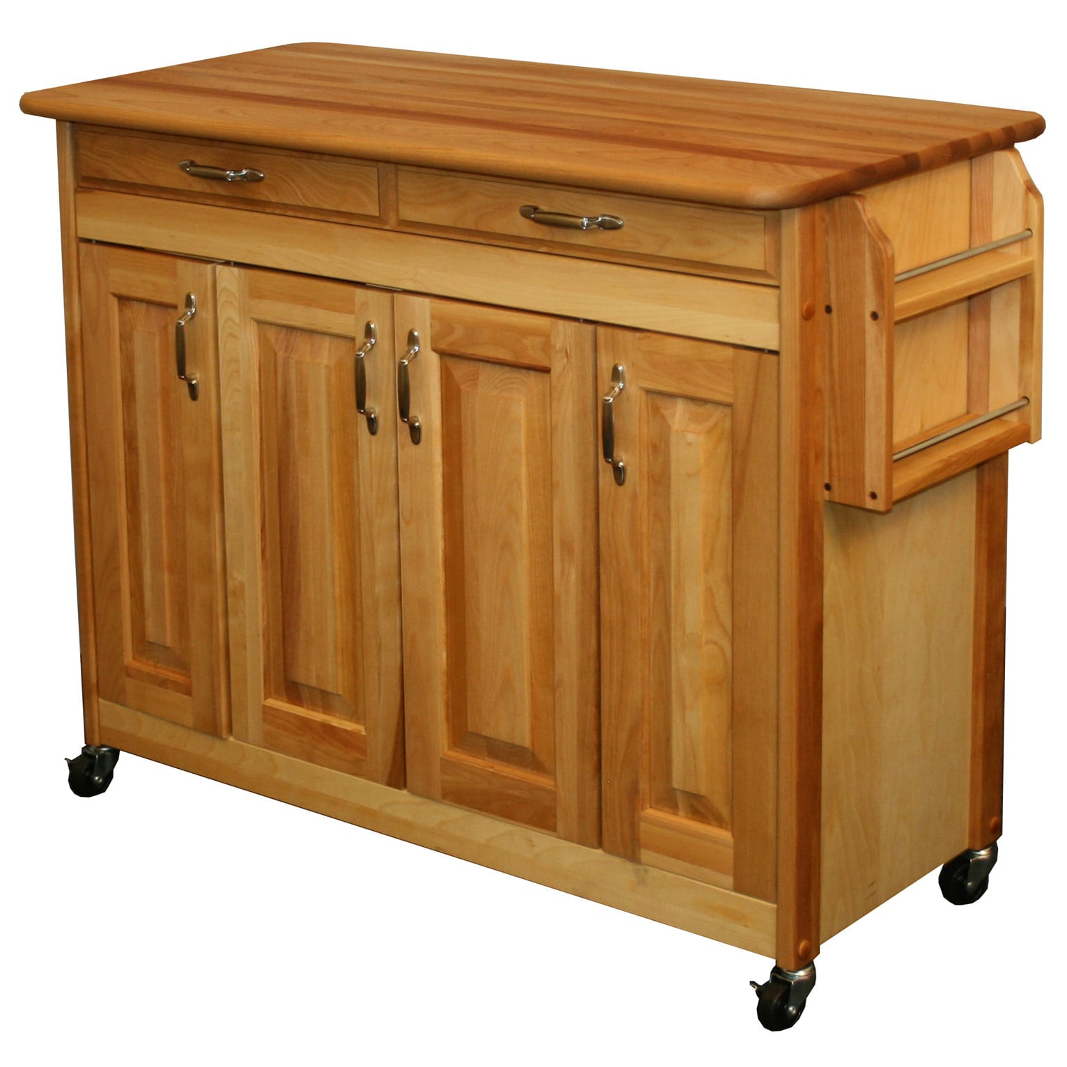 Butcher's Block Kitchen Island