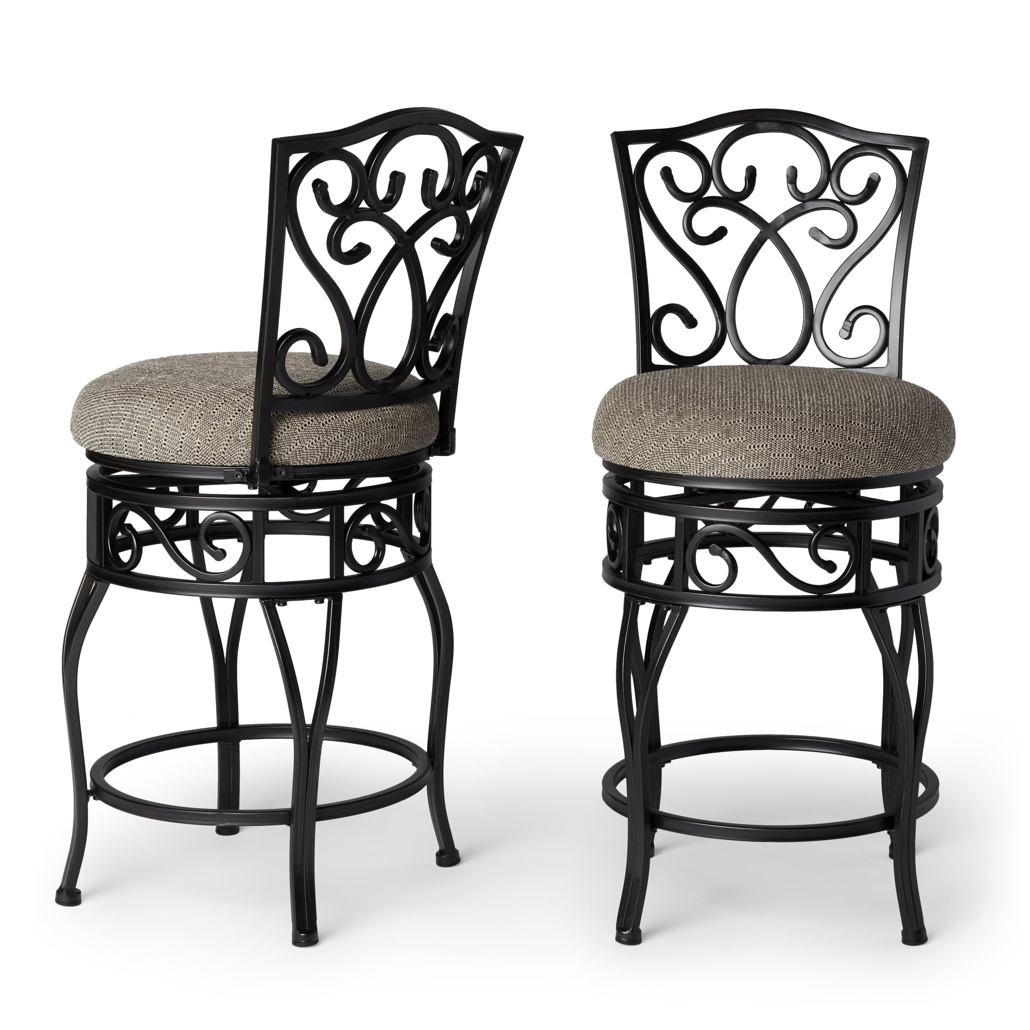 Brilliant 24 Inch Swivel Counter Stools Set Of 2 Caraccident5 Cool Chair Designs And Ideas Caraccident5Info