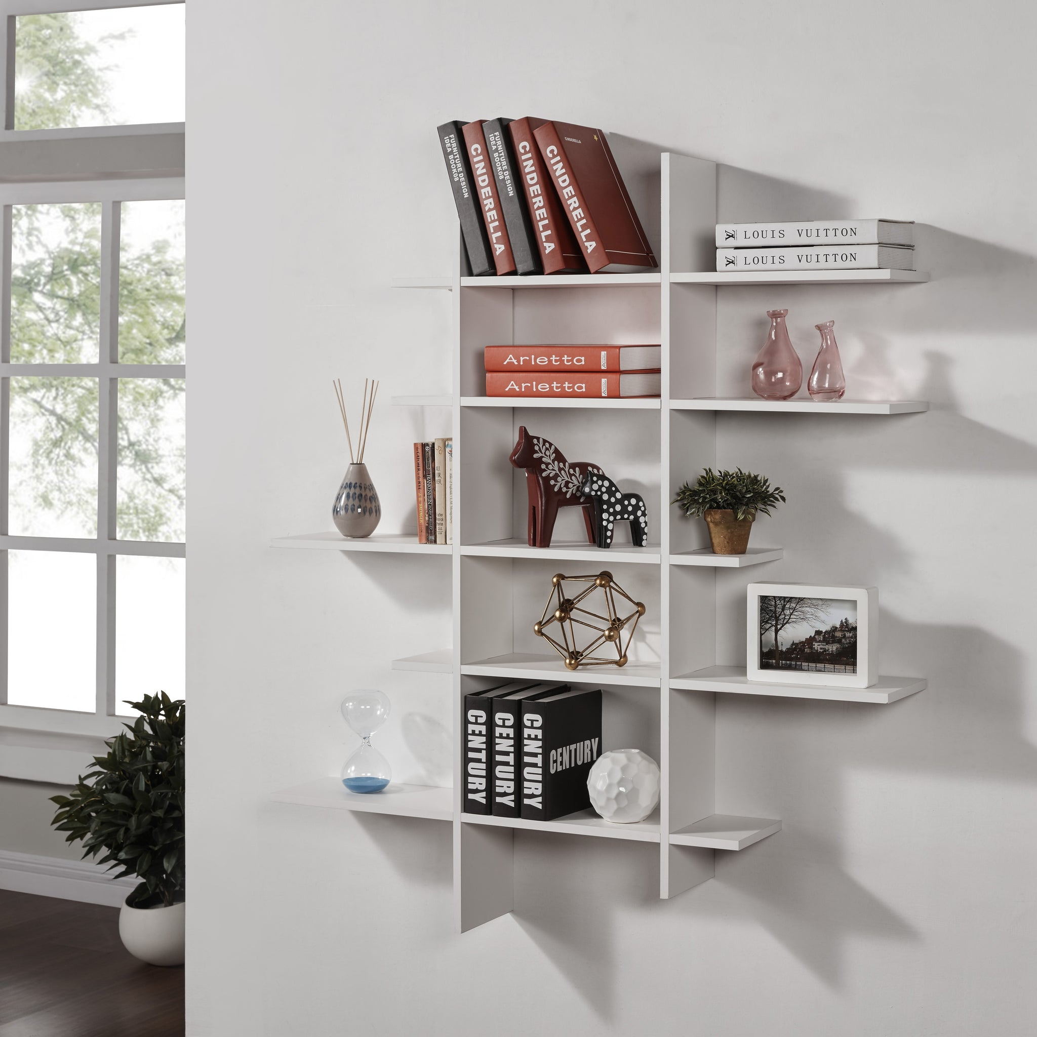 Five Level Asymmetric Shelf