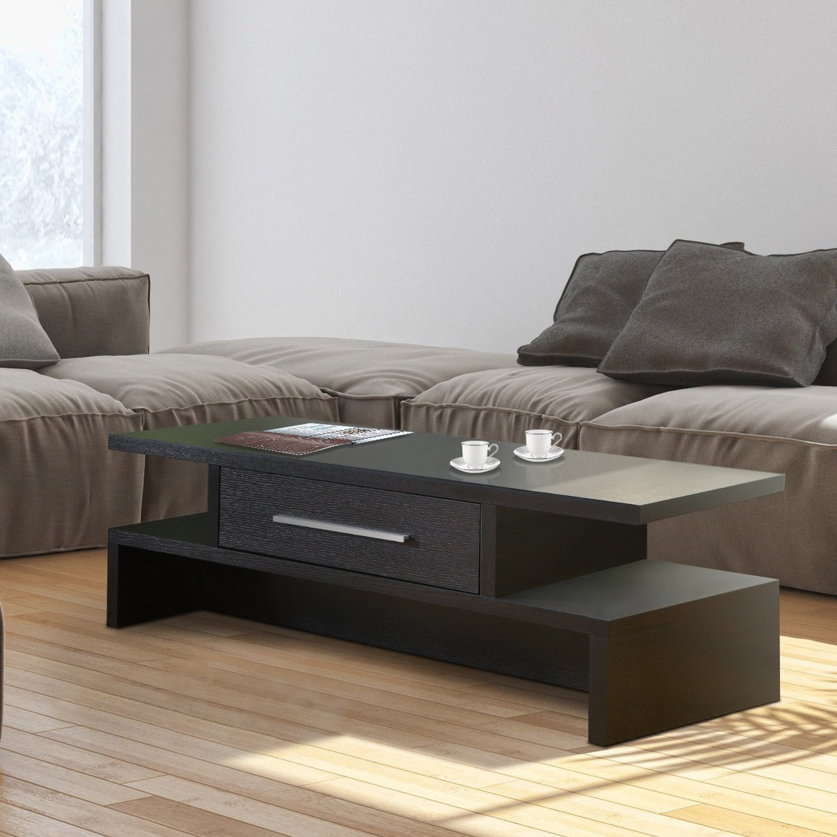 Two-side Open Coffee Table